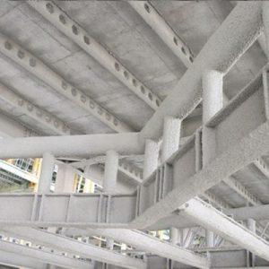 ضد حریق سازی سازه های فولادی